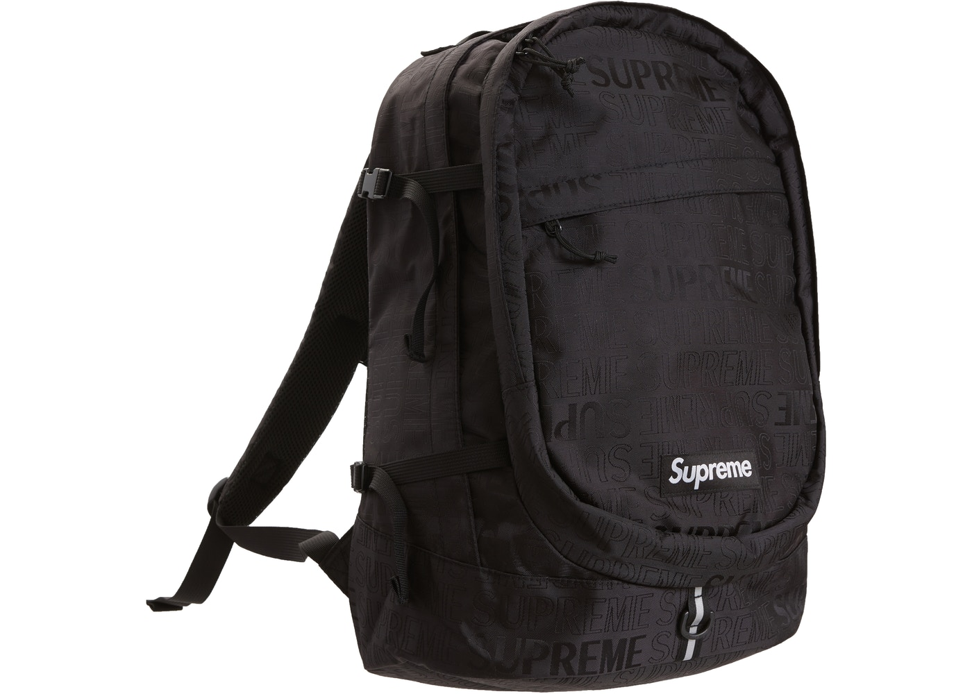 big sale fac8f 2721b Supreme Backpack (SS19) Black - SS19
