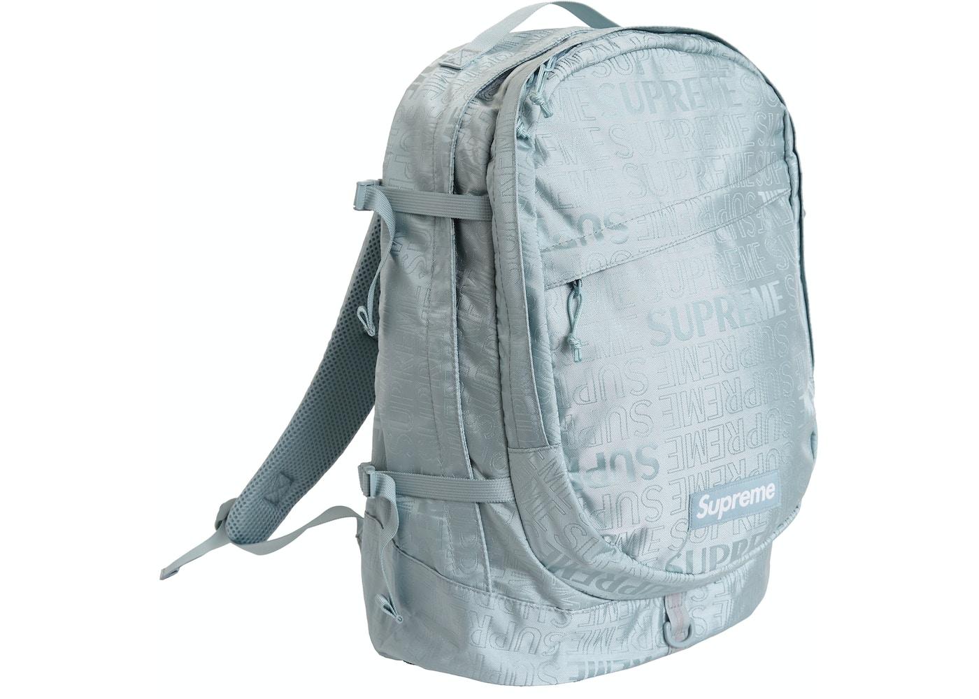 f992bda9 Supreme Backpack (SS19) Ice - SS19