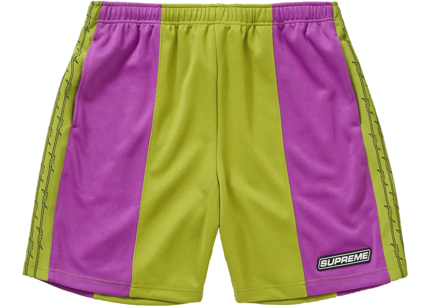 6cb424325b Supreme Barbed Wire Athletic Short Purple. Barbed Wire Athletic