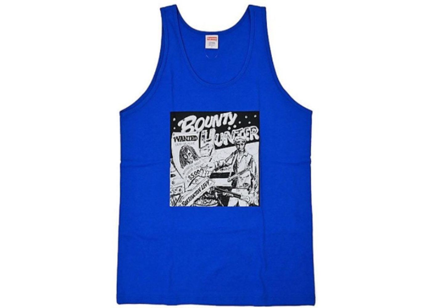 64d1f76cc70cf Sell. or Ask. Size M. View All Bids. Supreme Barrington Levy Jah Life  Bounty Hunter Tank Top Royal