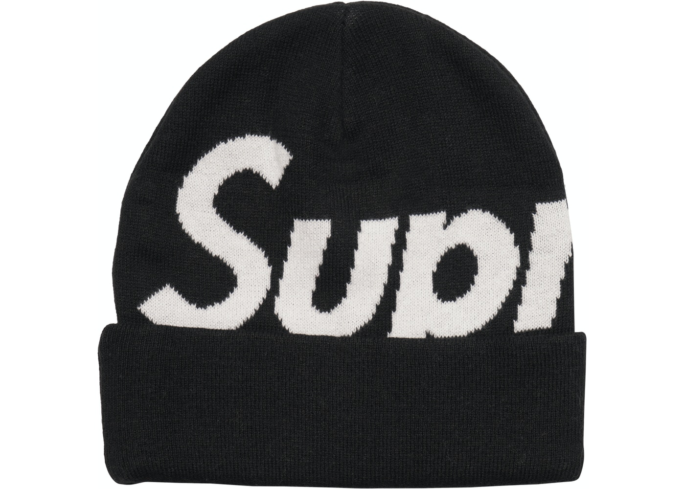 Sell. or Ask. View All Bids. Supreme Big Logo Beanie (FW17) Black b114a66d1b1