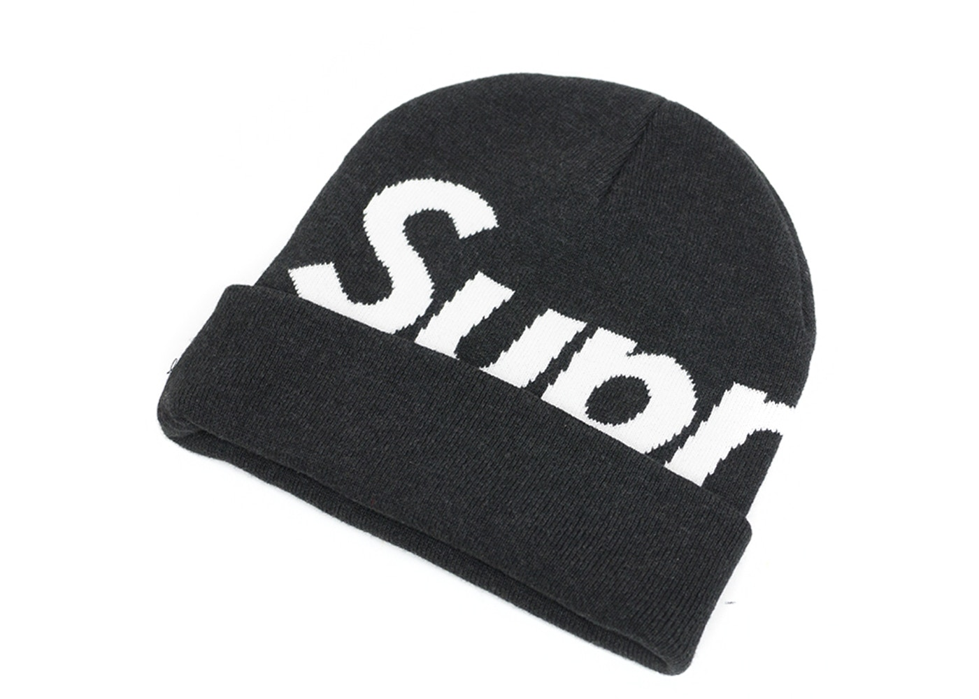 57a7610e Sell. or Ask. View All Bids. Supreme Big Logo Beanie Charcoal