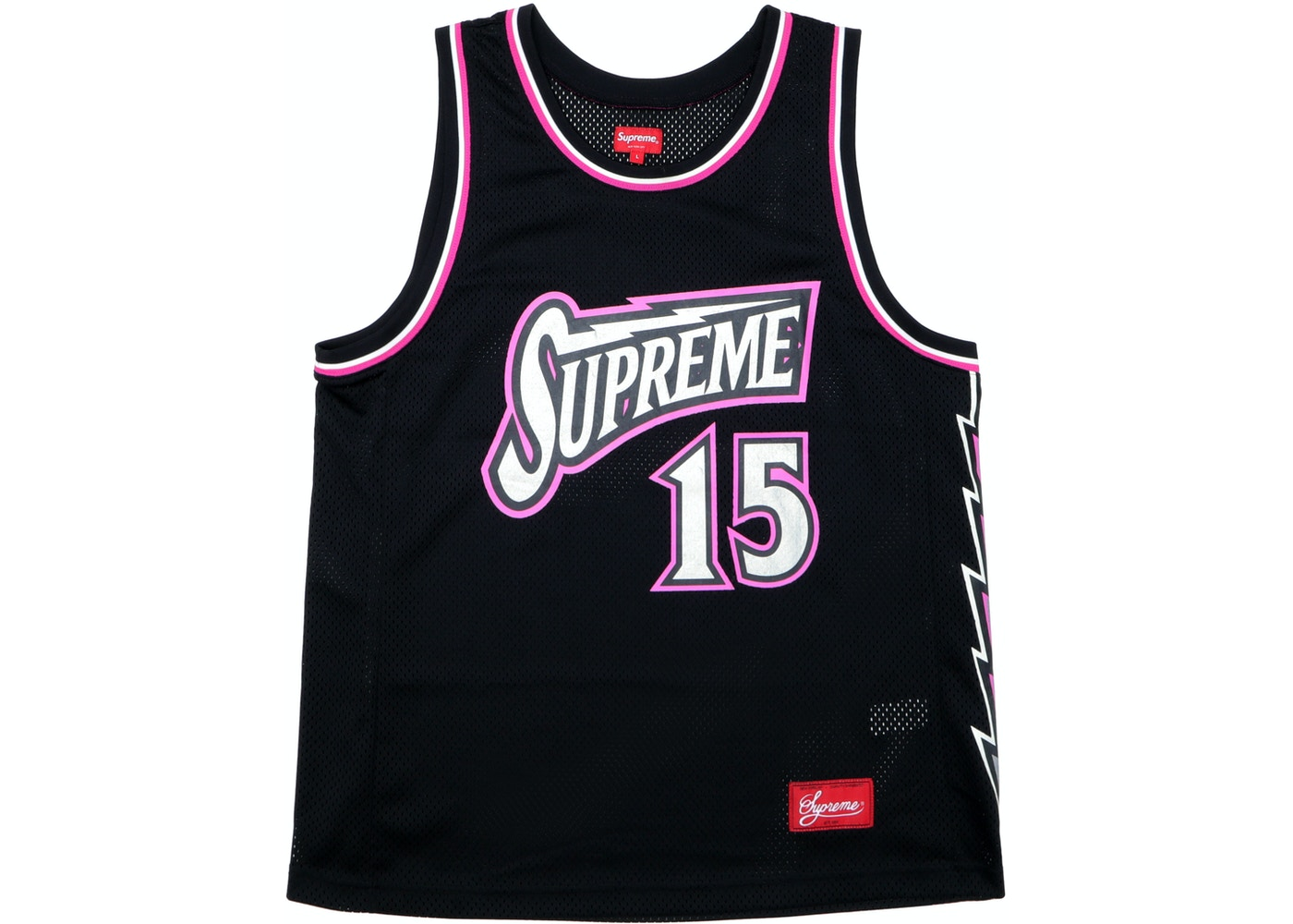 c0502405b Sell. or Ask. Size S. View All Bids. Supreme Bolt Basketball Jersey Black