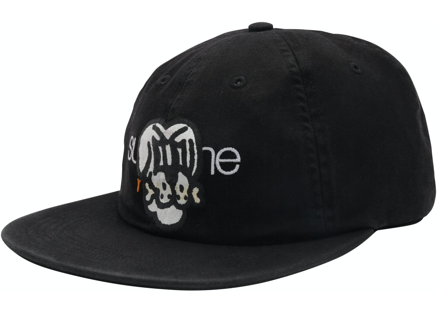 3c8c3db8 Sell. or Ask. View All Bids. Supreme Bone Classic Logo 6-Panel Black