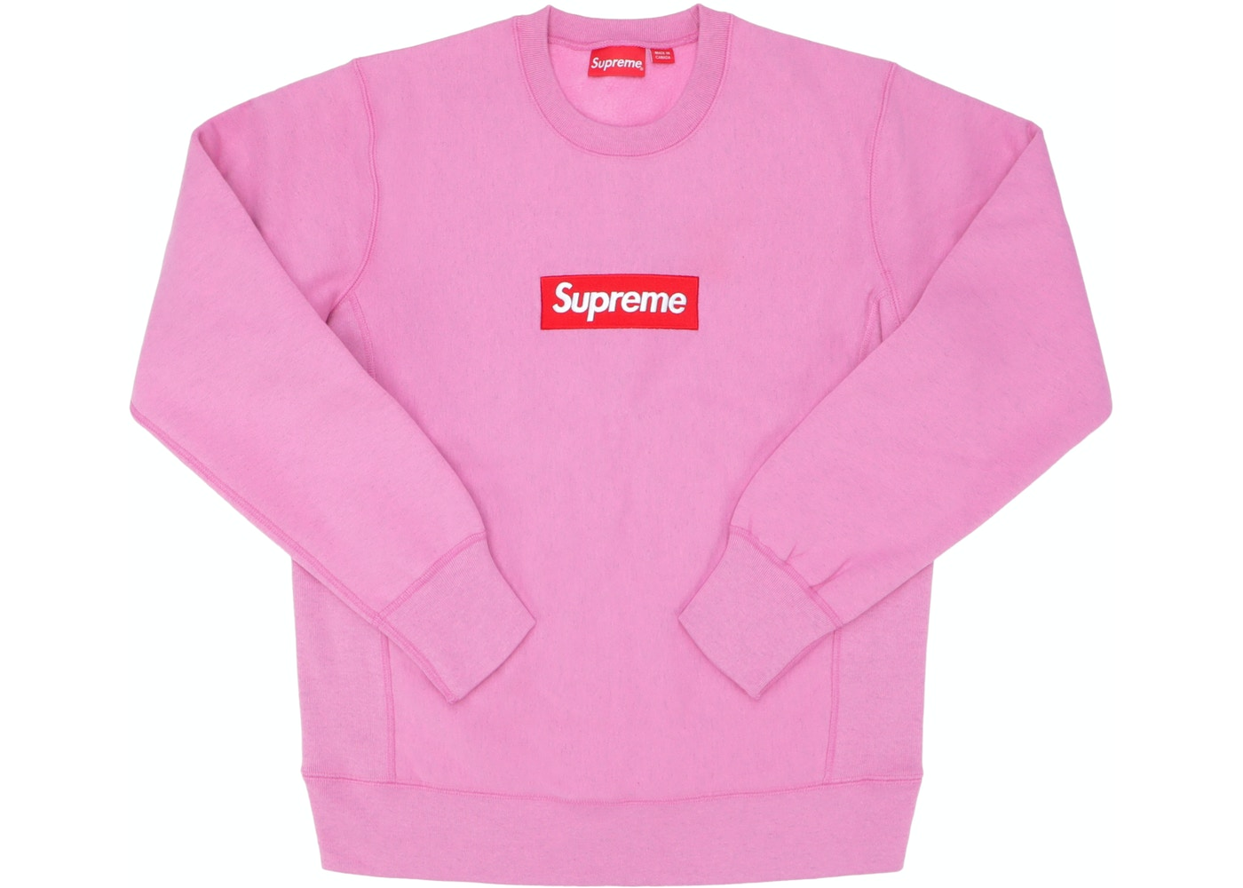 huge selection of ee0e5 79098 Supreme Box Logo Crewneck (FW15) Heather Pink - FW15