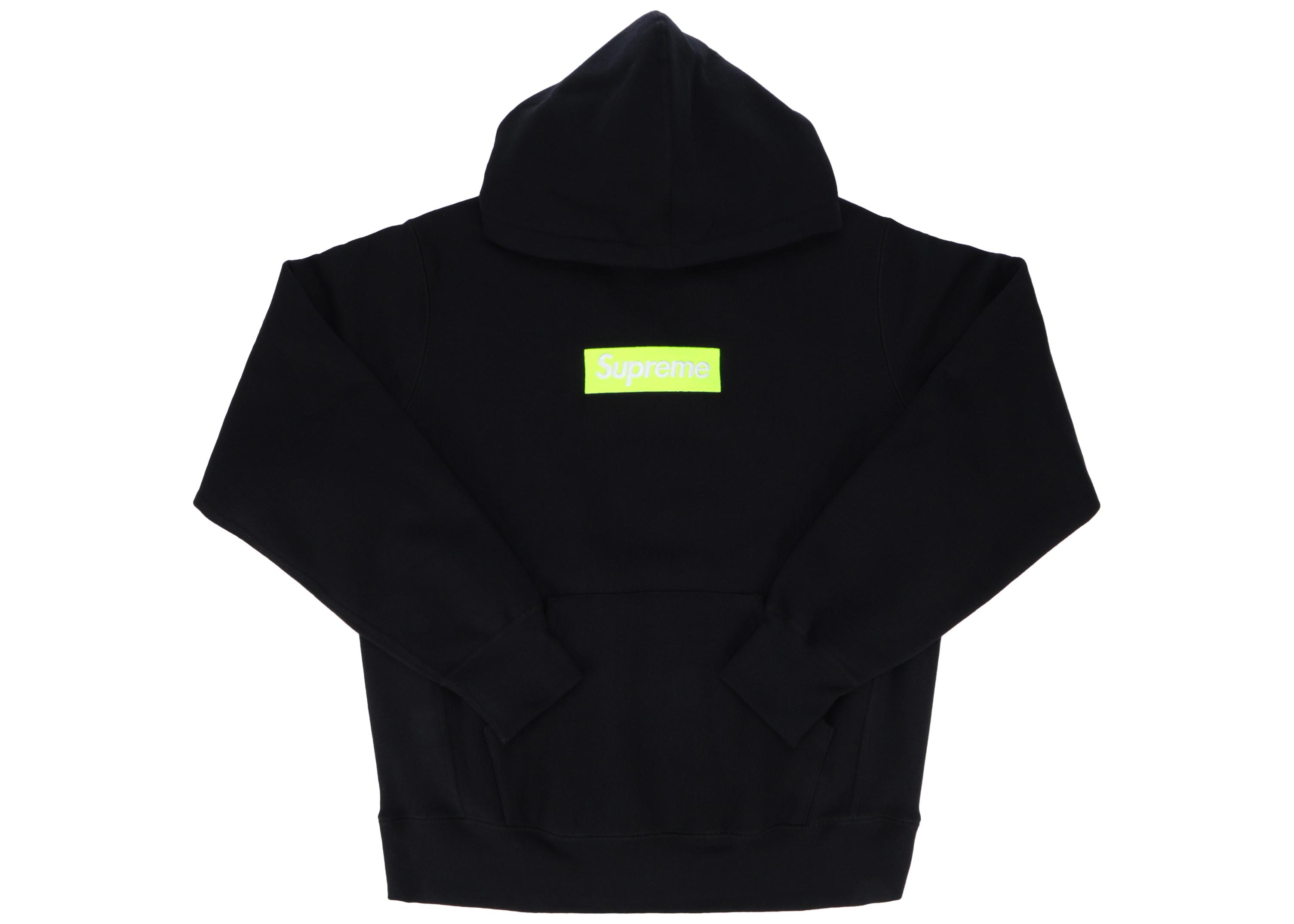 Supreme Box Logo Hooded Sweatshirt (FW17) Black