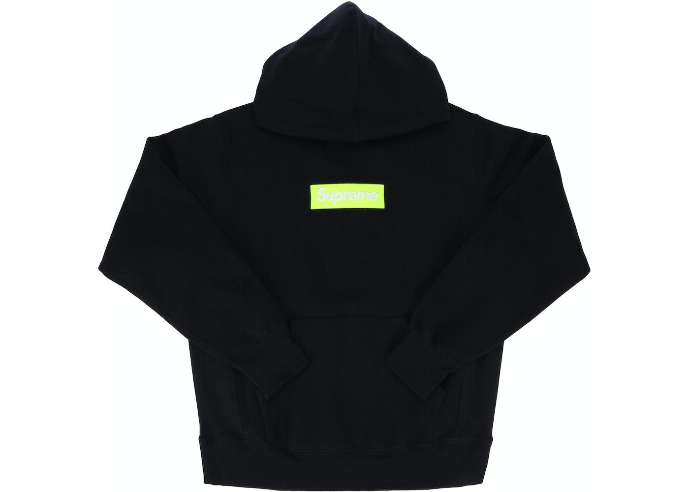 Supreme Box Logo Hooded Sweatshirt Fw17 Black Fw17