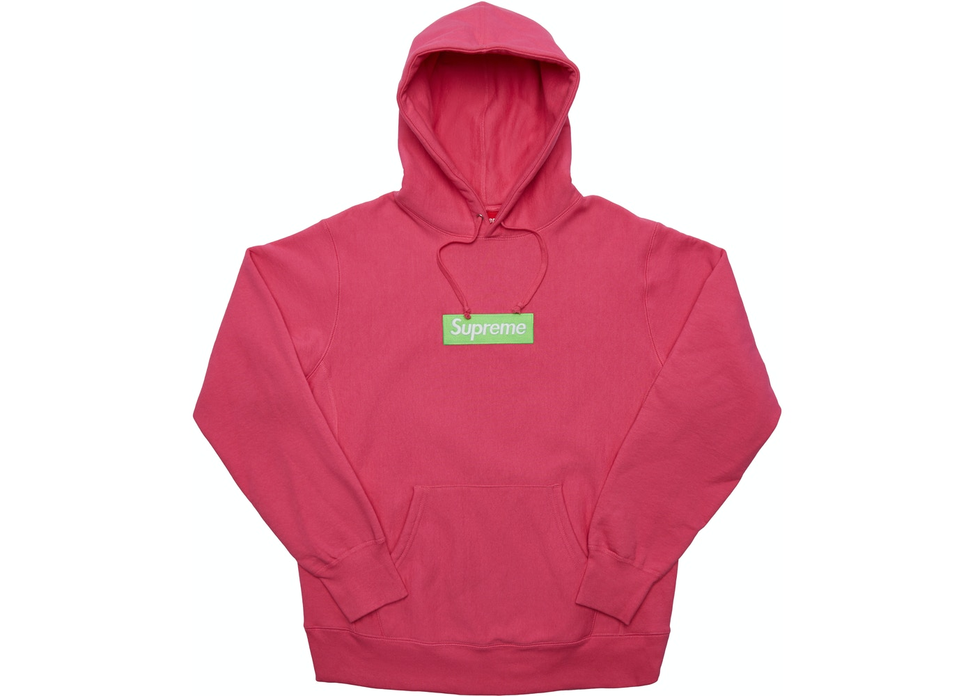 3c057d7d Supreme Box Logo Hooded Sweatshirt (FW17) Magenta - FW17