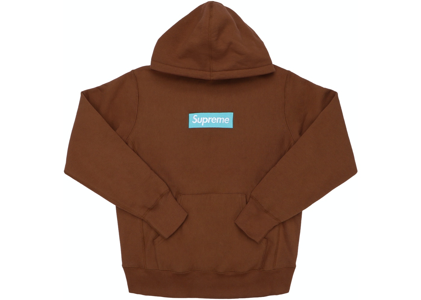 37c701ac Supreme Box Logo Hooded Sweatshirt (FW17) Rust - FW17