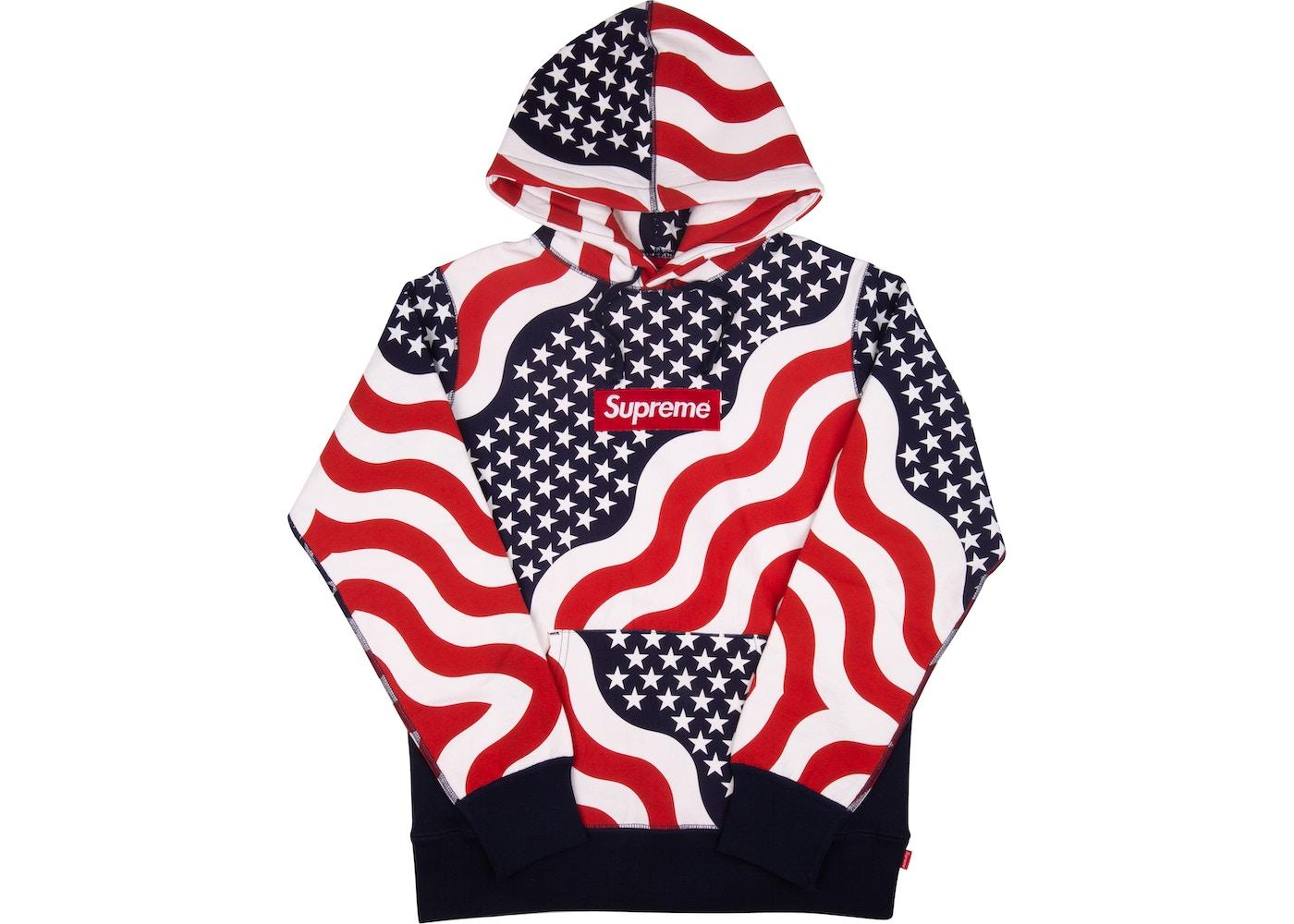 miglior servizio 17322 baea8 Supreme Box Logo Pullover Hoodie Multi
