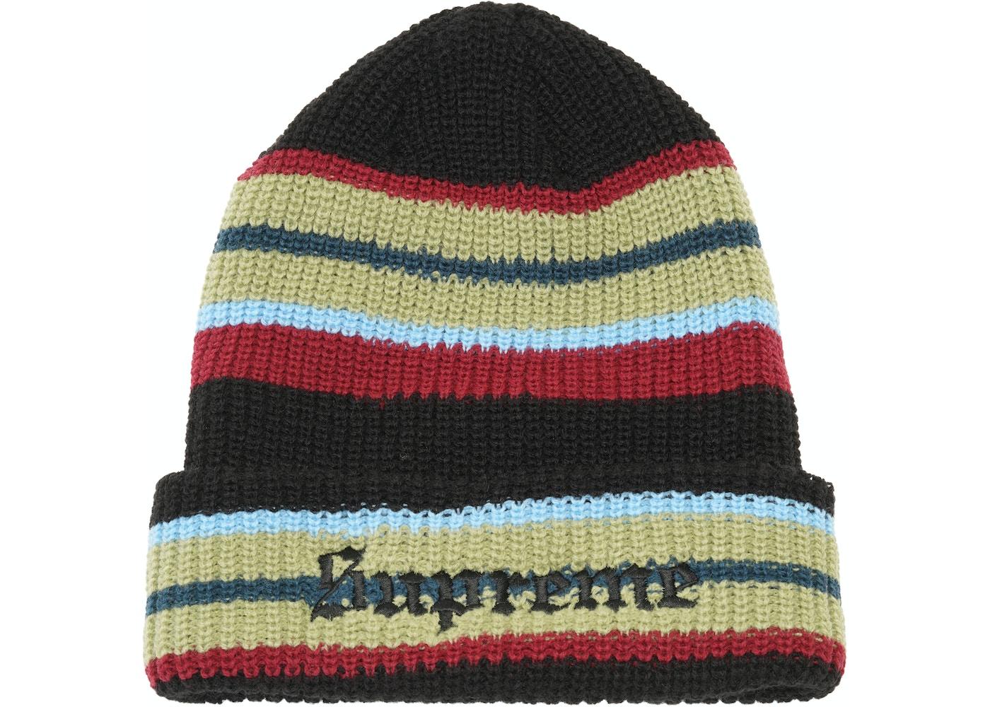 fd0e51de848 Sell. or Ask. View All Bids. Supreme Bright Stripe Beanie Black