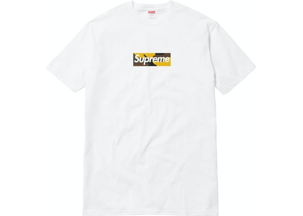 f7ca3d2b Streetwear - Supreme T-Shirts - Average Sale Price