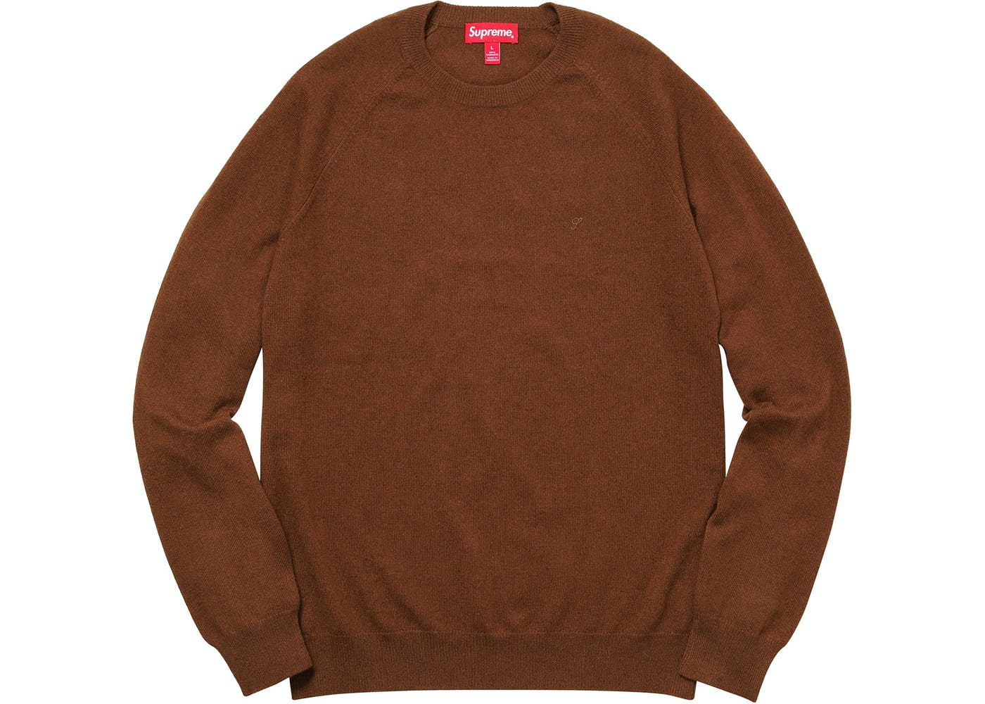 Cashmere Sweater Brown