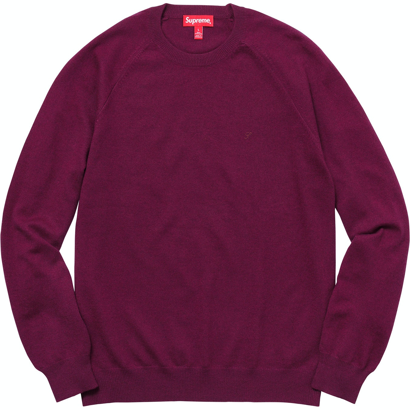 Cashmere Sweater Wine