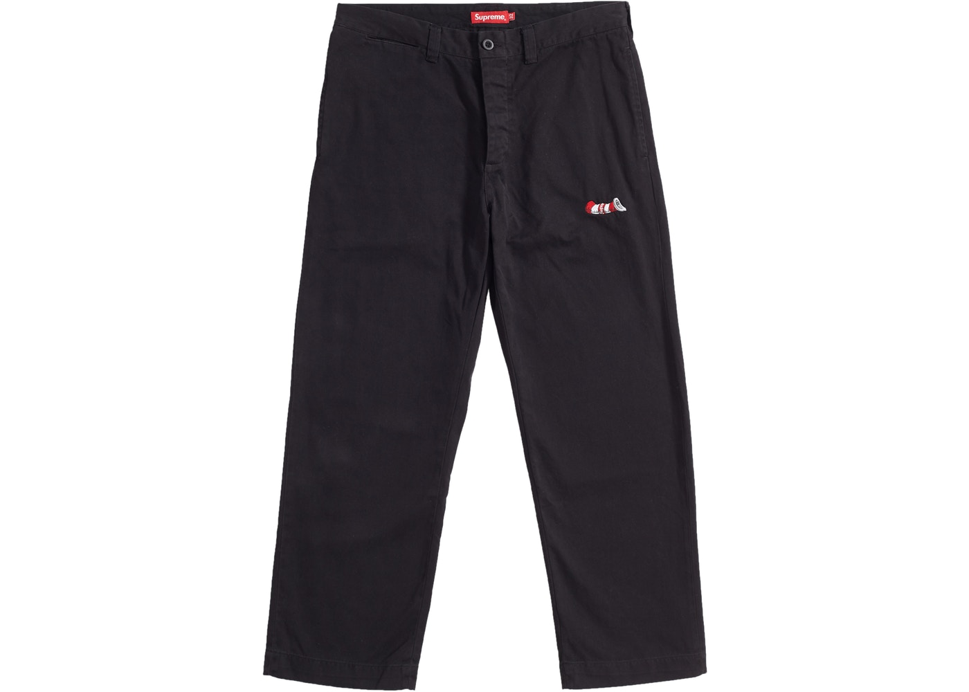 Sell. or Ask. Size  30. View All Bids. Supreme Cat in the Hat Chino Pant  Black d69d189b6f9f