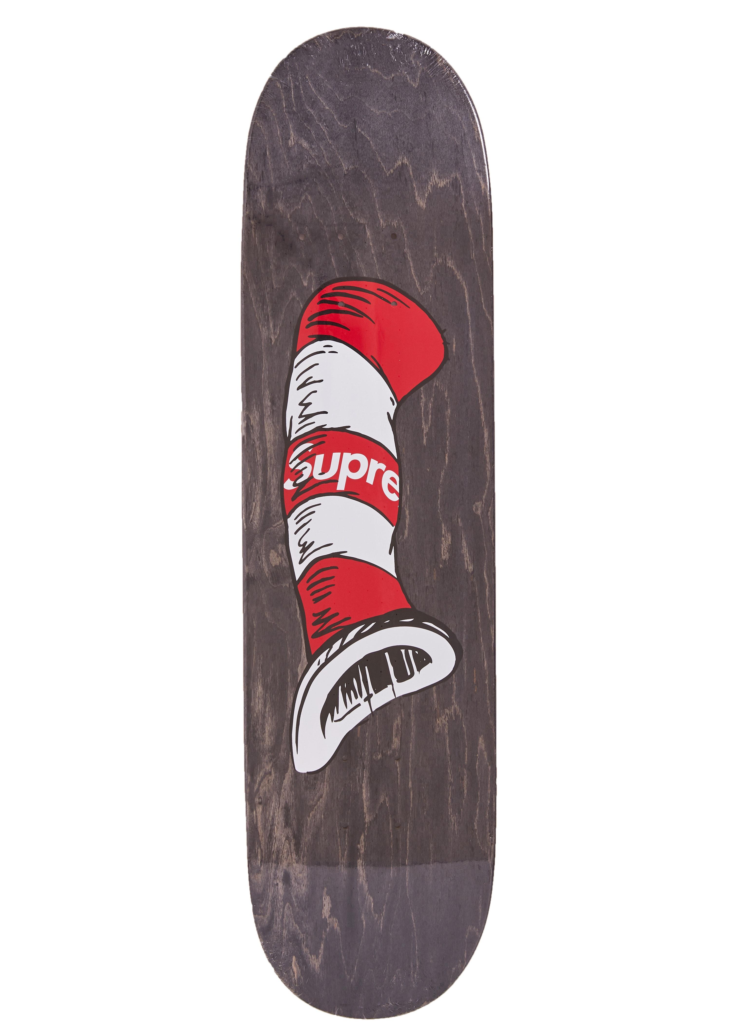 Supreme Cat in the Hat Skateboard Black