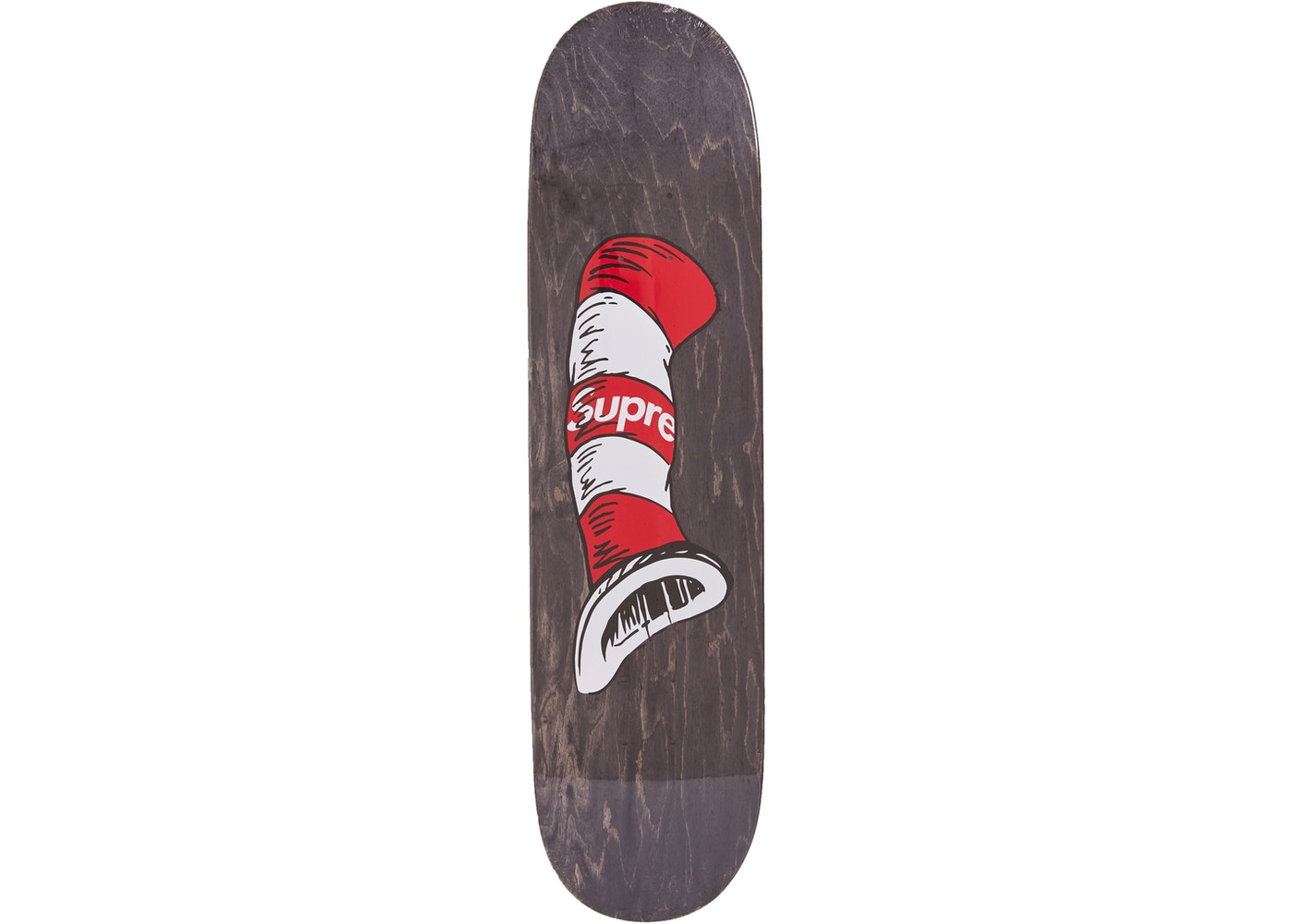 3a7a5b30 Supreme Cat in the Hat Skateboard Deck Black - FW18