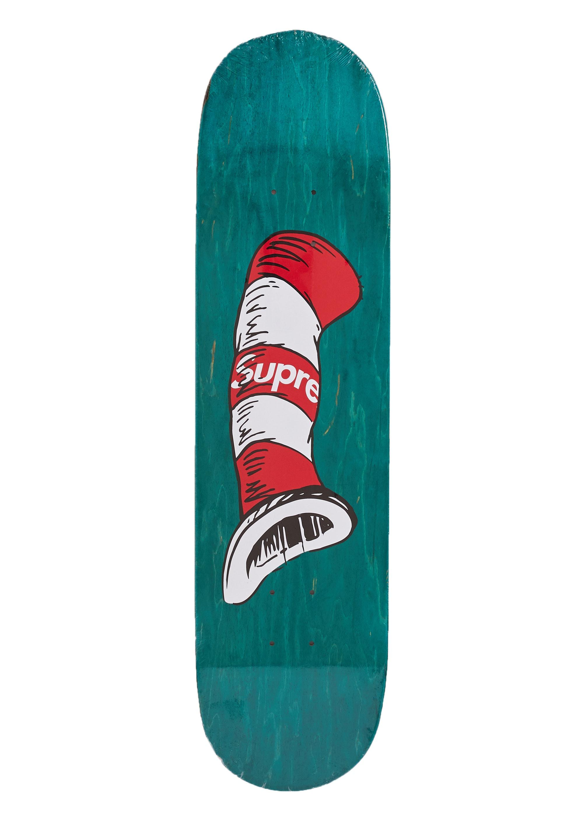 Supreme Cat in the Hat Skateboard Green