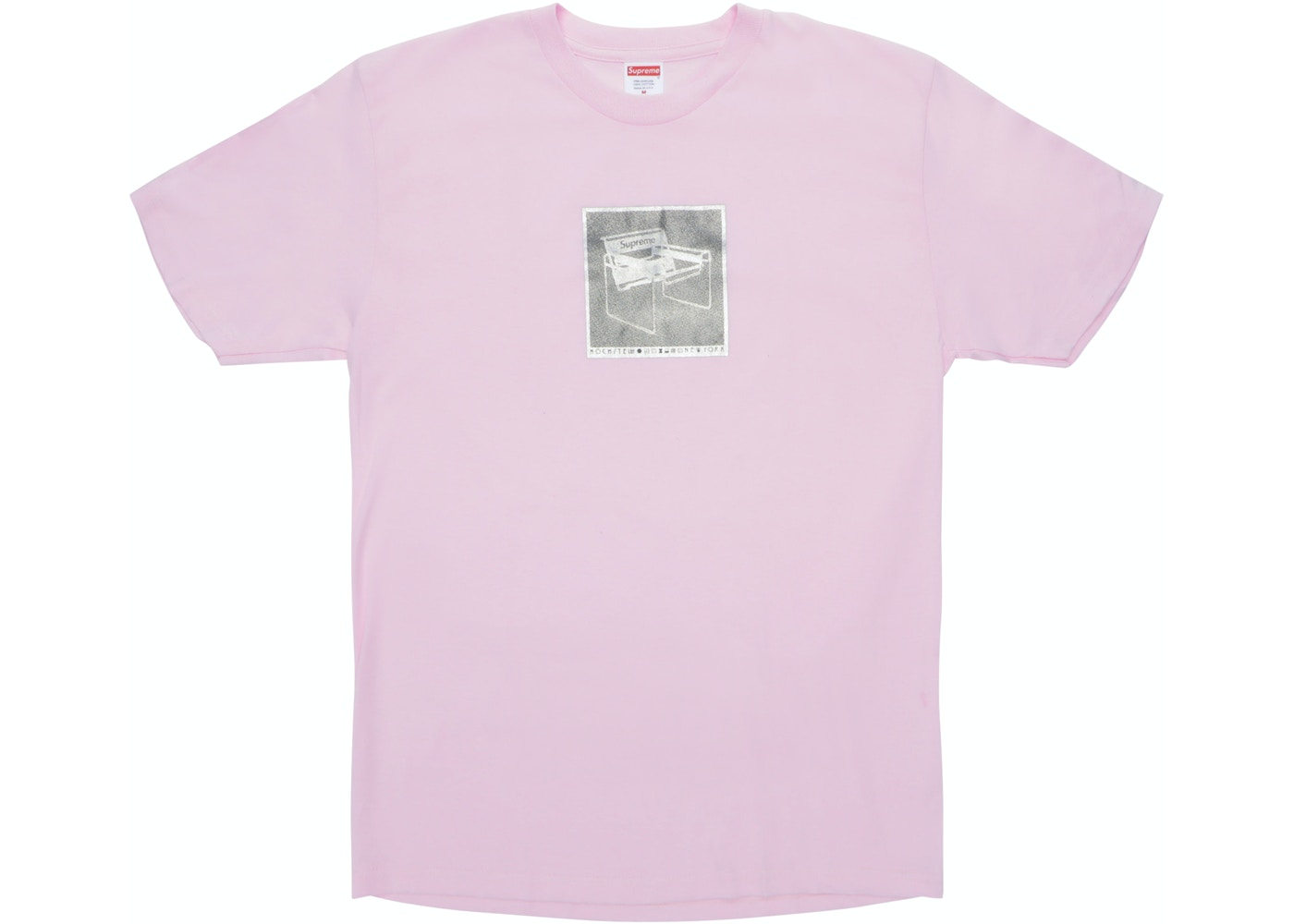 87bf725bec61 Supreme Chair Tee Light Pink - SS18