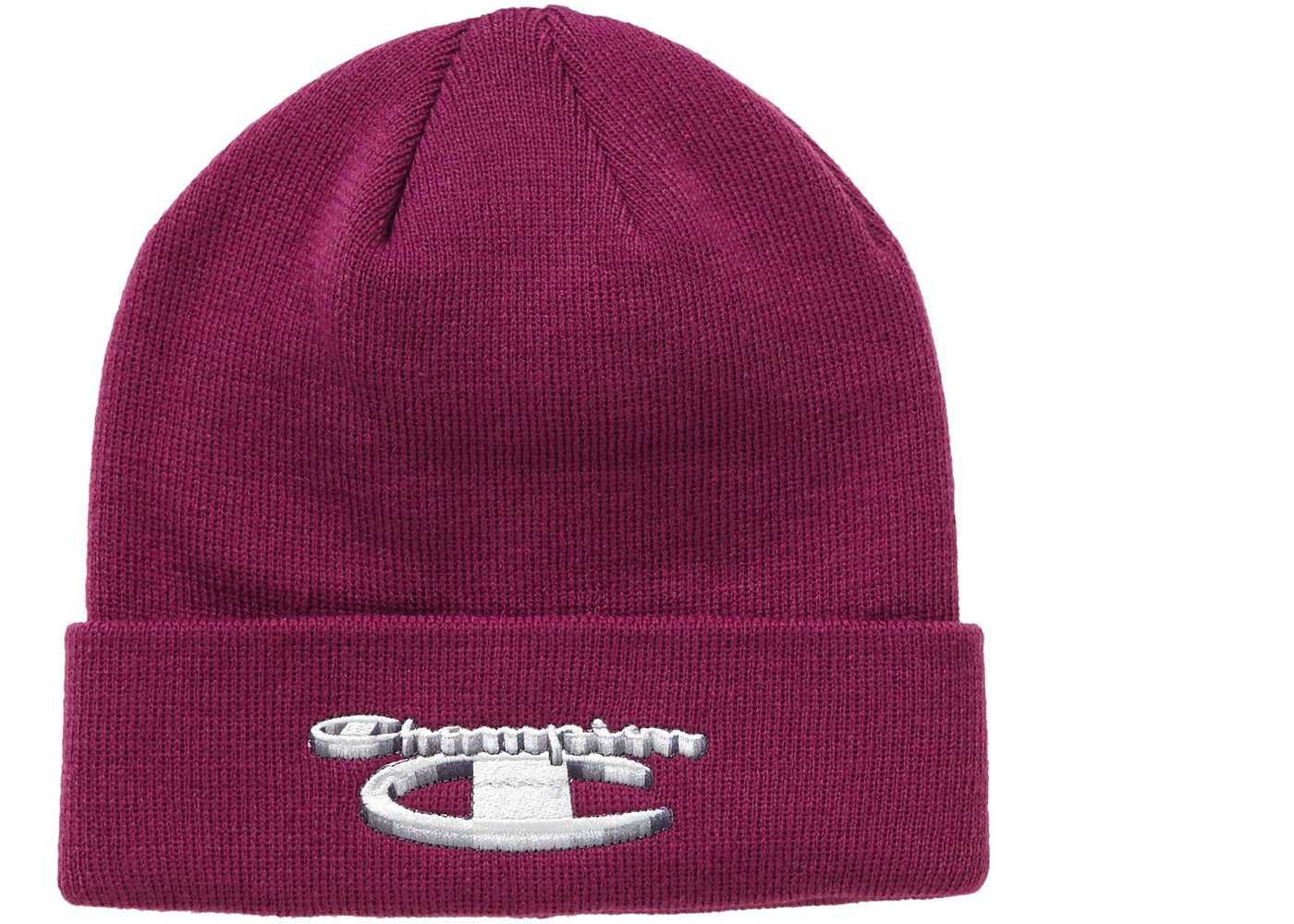 8c9a5c7e Supreme Champion 3D Metallic Beanie Bright Purple. Champion 3D Metallic