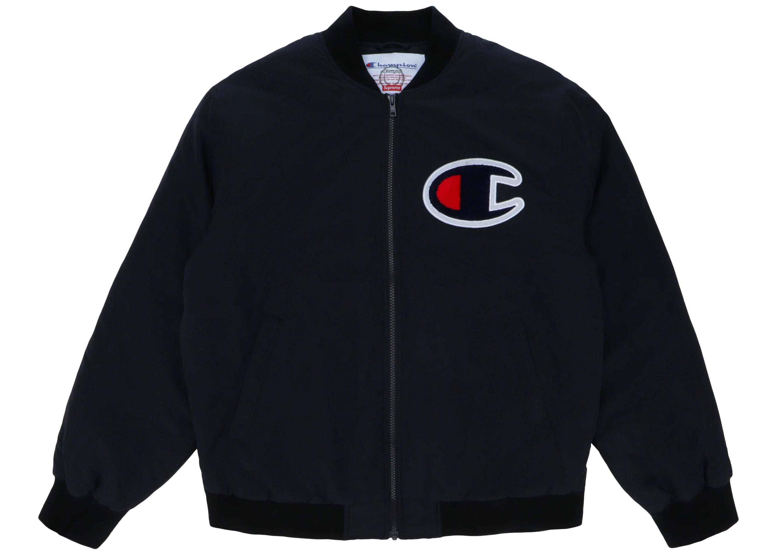 Champion Auto Sales >> Supreme Champion Color Blocked Jacket Black