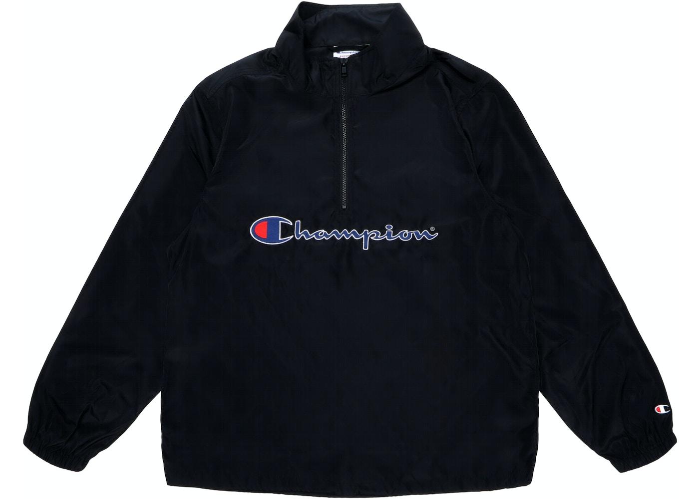 fd84ada2237 Sell. or Ask. Size L. View All Bids. Supreme Champion Half Zip Pullover  Black