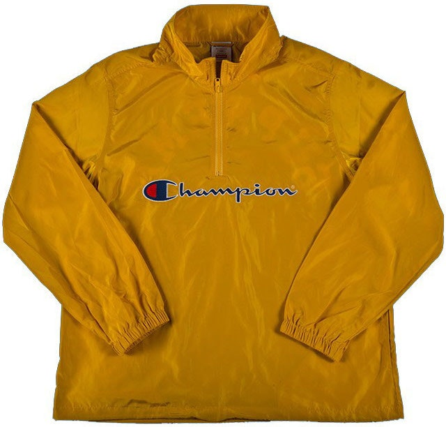 Champion Half Zip Pullover Gold