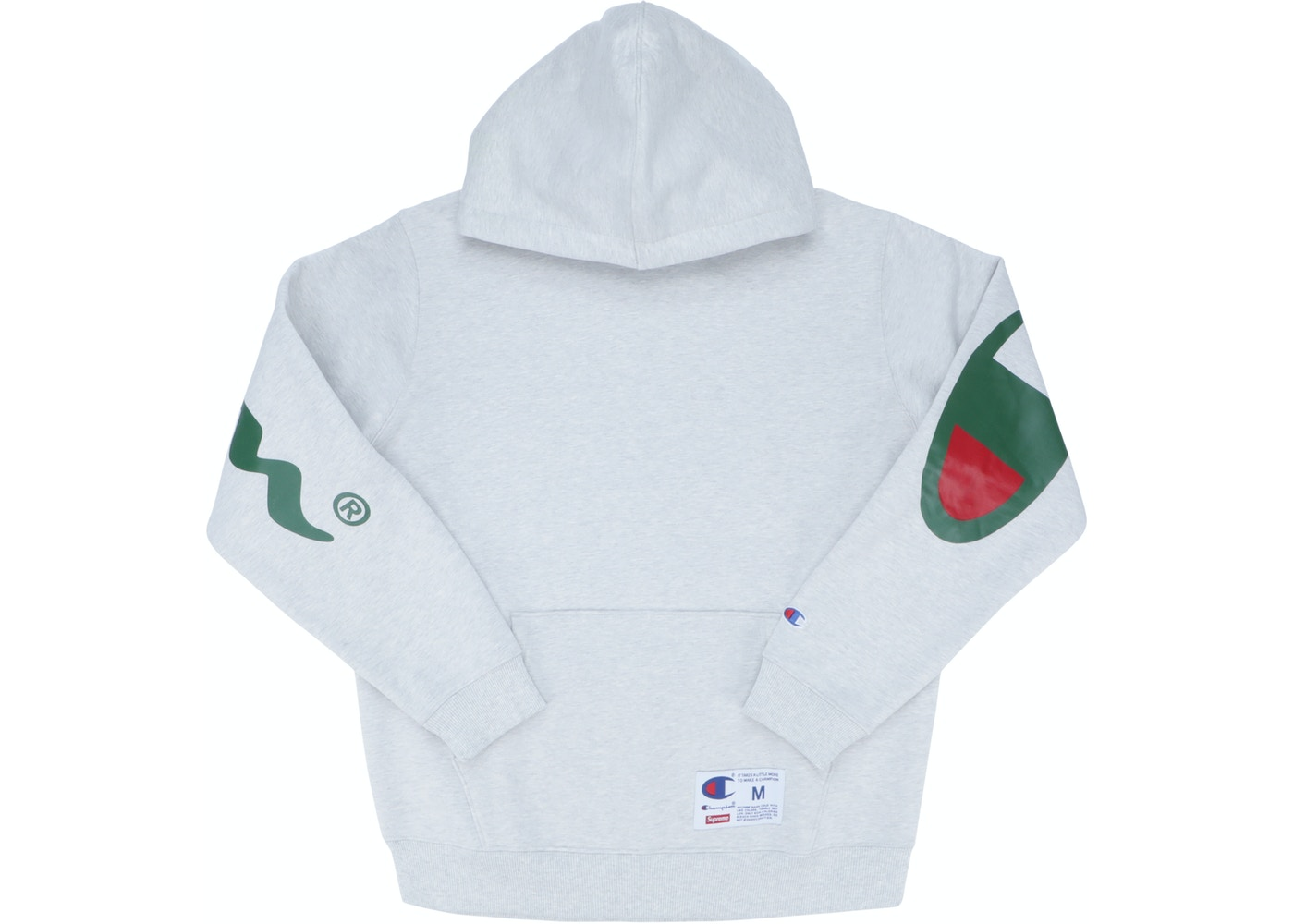 038d5266326 Supreme Champion Hooded Sweatshirt (SS18) Ash Grey - SS18