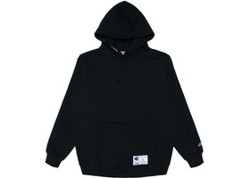 393e24dac52 Supreme Champion Hooded Sweatshirt (SS18) Black - SS18