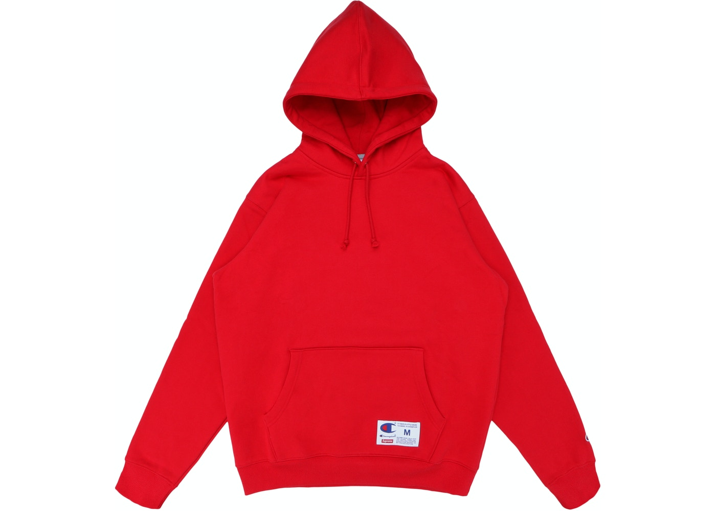 3fa96b64522 Supreme Champion Hooded Sweatshirt (SS18) Red - SS18