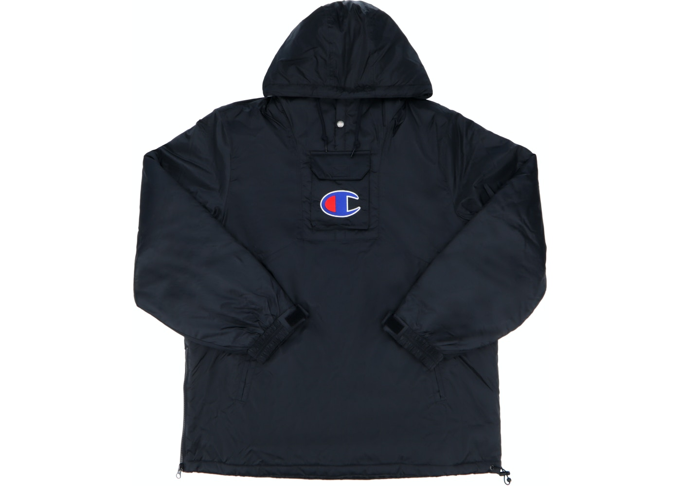 Supreme Champion Pullover Parka Black