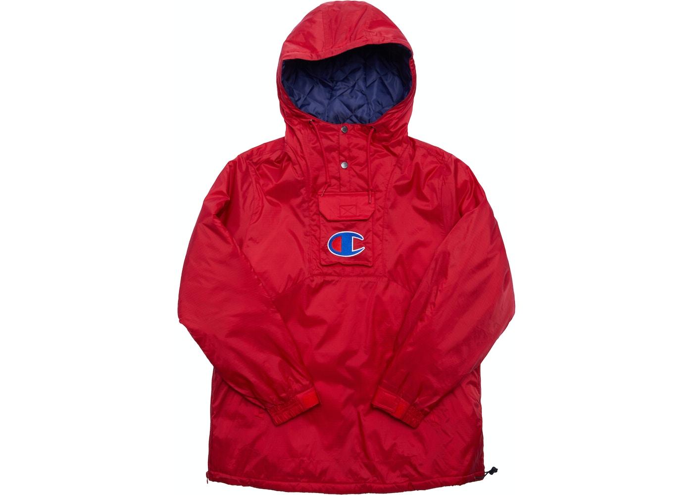 Supreme Champion Pullover Parka Red
