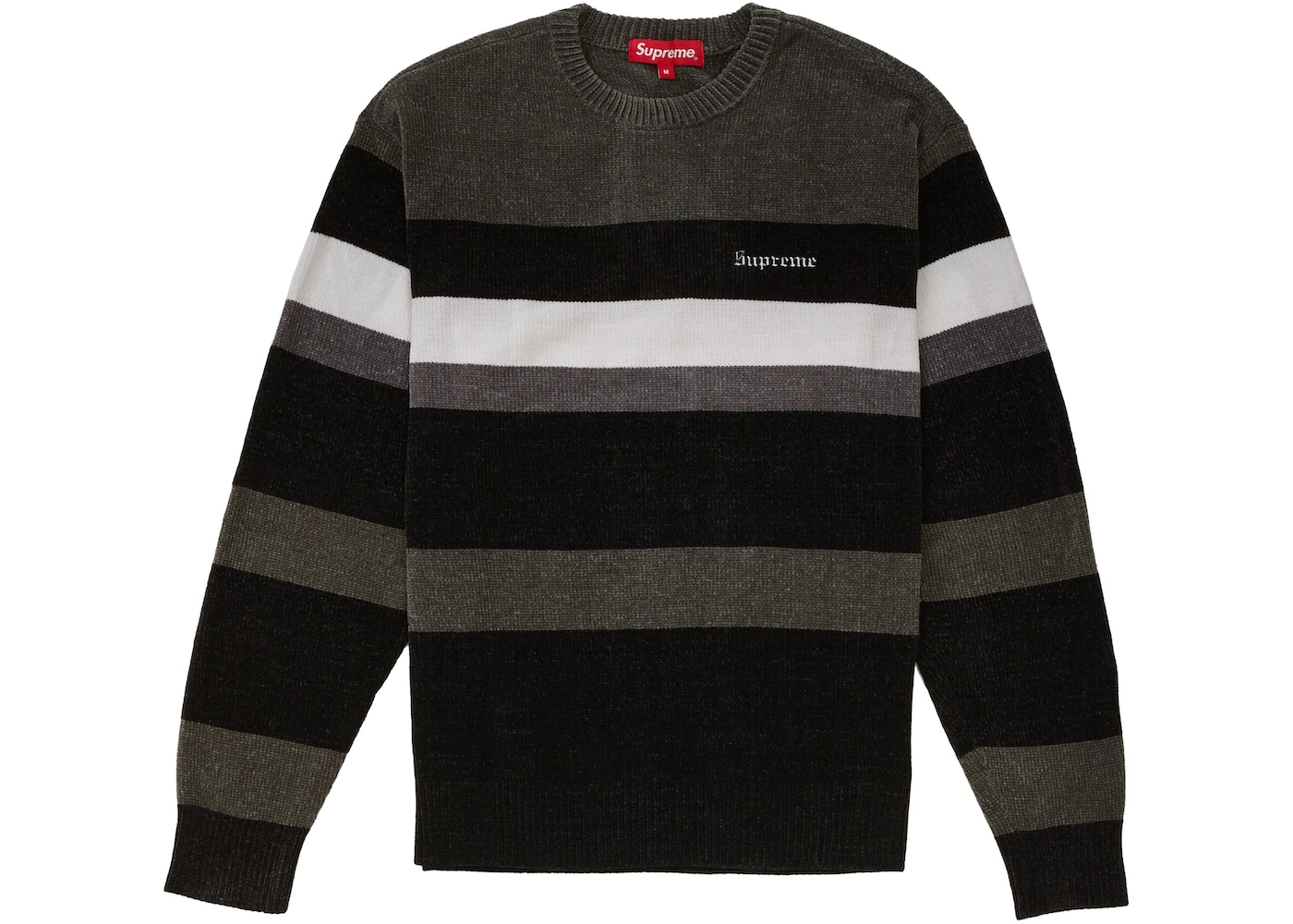 7486bfb2 Sell. or Ask. Size M. View All Bids. Supreme Chenille Sweater Black
