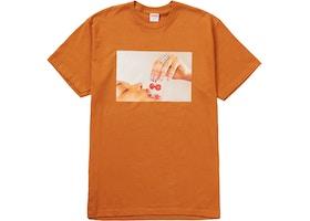 Supreme Cherries Tee Burnt Orange