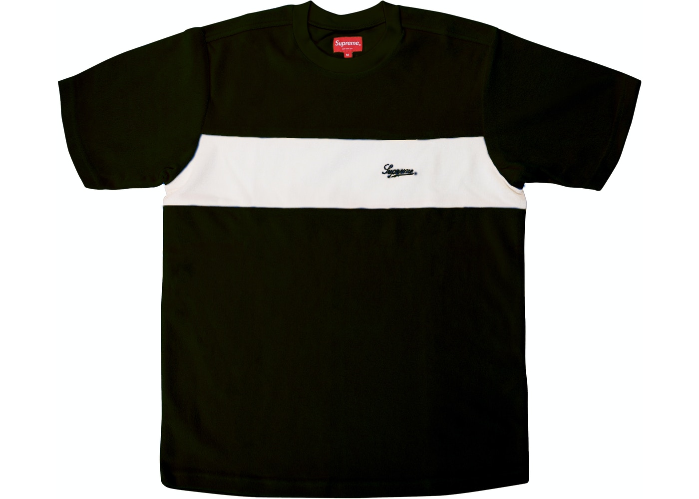 420cbdc598ba Sell. or Ask. Size: XL. View All Bids. Supreme Chest Stripe Terry Top Black