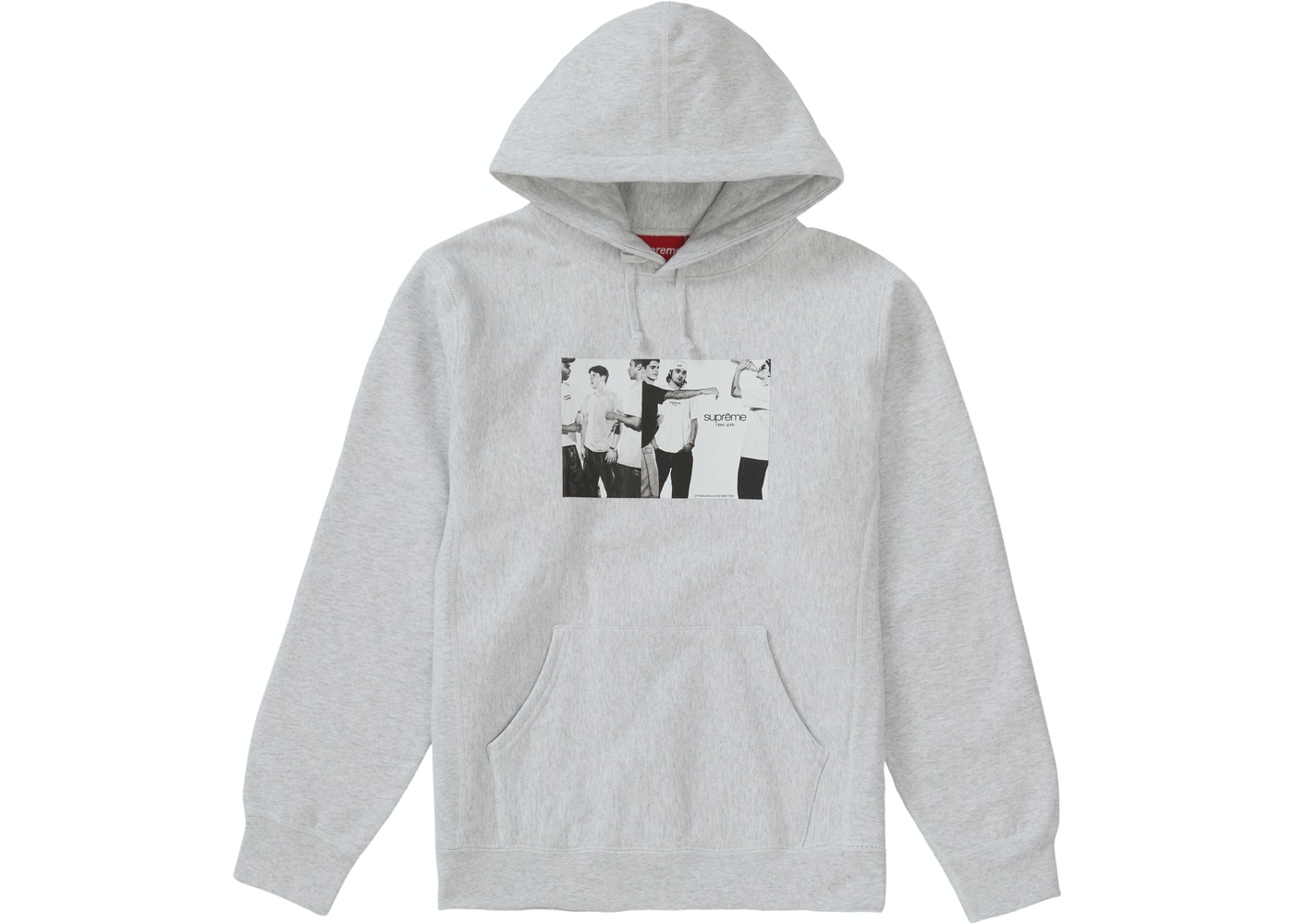 7ebc1404 Sell. or Ask. Size S. View All Bids. Supreme Classic Ad Hooded Sweatshirt  Ash Grey