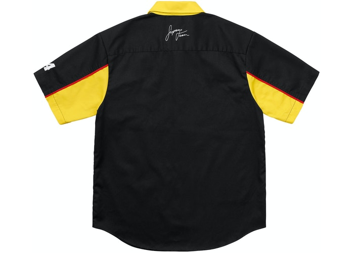 3d9aa55dd320 Supreme Color Blocked Work Shirt (SS18) Black - SS18