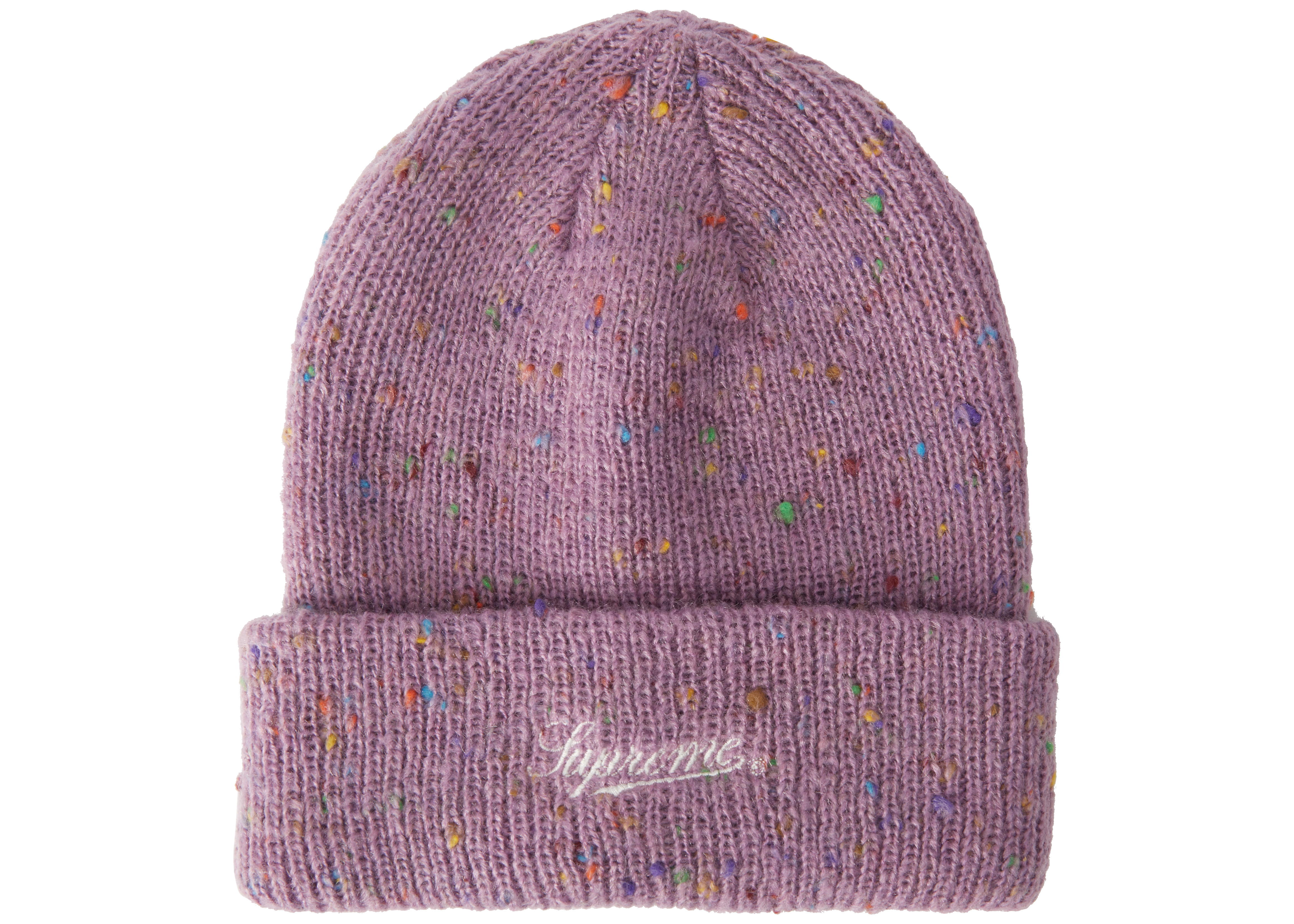 a1121bcd8ba ... cap 14965 7b0bc italy supreme colored speckle beanie purple bbf1f dfaee  ...