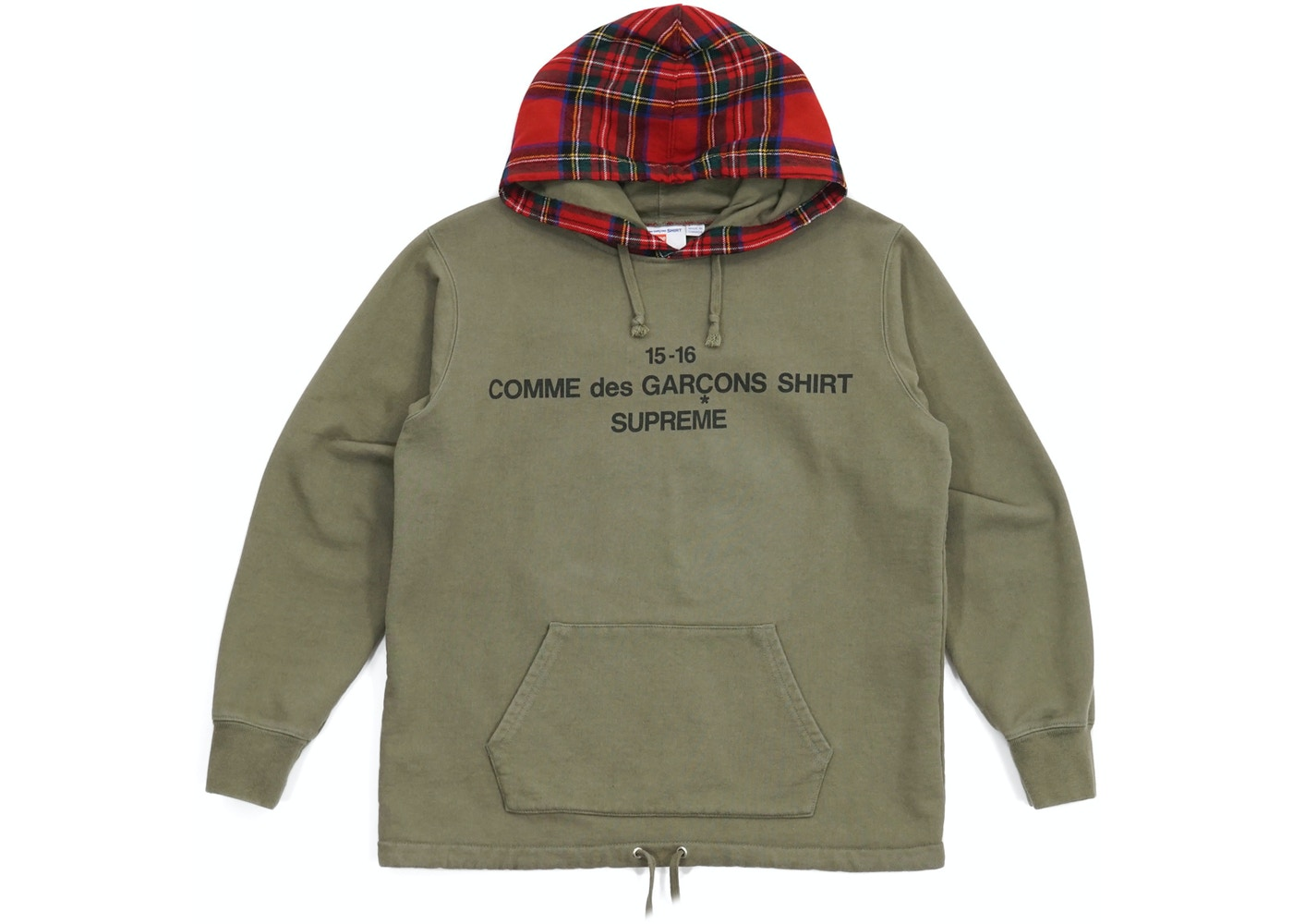 444930a5e4f0 Sell. or Ask. Size S. View All Bids. Supreme Comme Des Garcons Hooded  Sweatshirt Olive