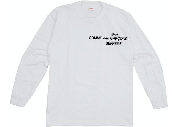 b0154297 Streetwear - Supreme T-Shirts - Average Sale Price