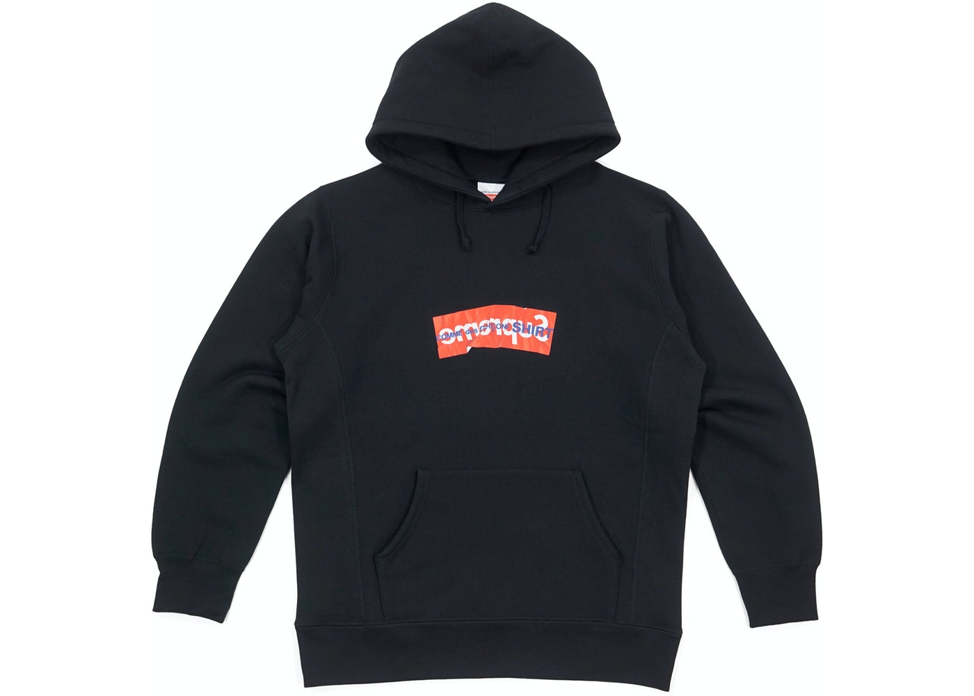 supreme comme des garcons shirt box logo hooded sweatshirt. Black Bedroom Furniture Sets. Home Design Ideas