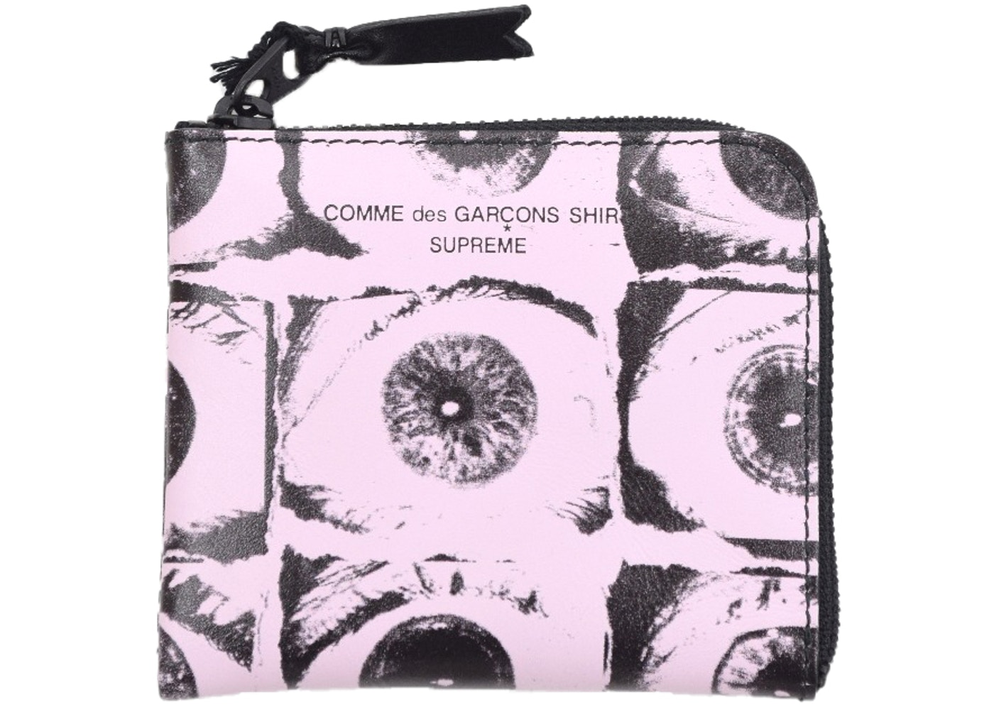 superior quality online for sale great deals Supreme Comme des Garcons SHIRT Large Eyes Coin Pouch Pink