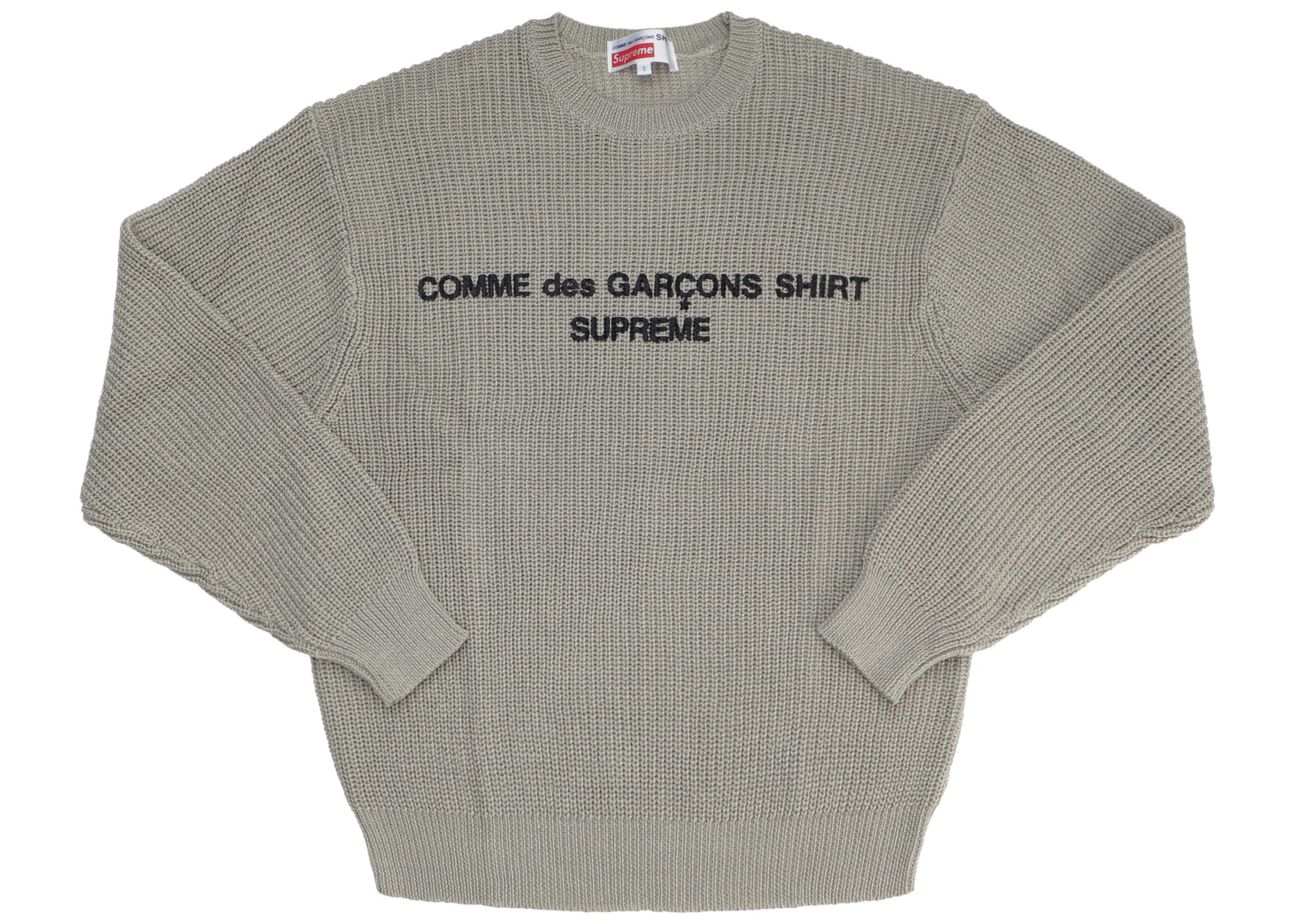 cdg x supreme shirt