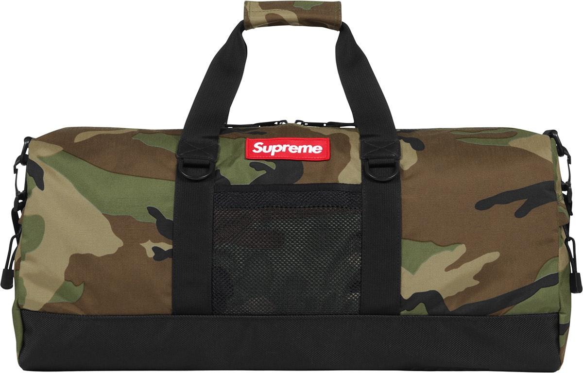 Image result for Supreme Camo Duffle Bag