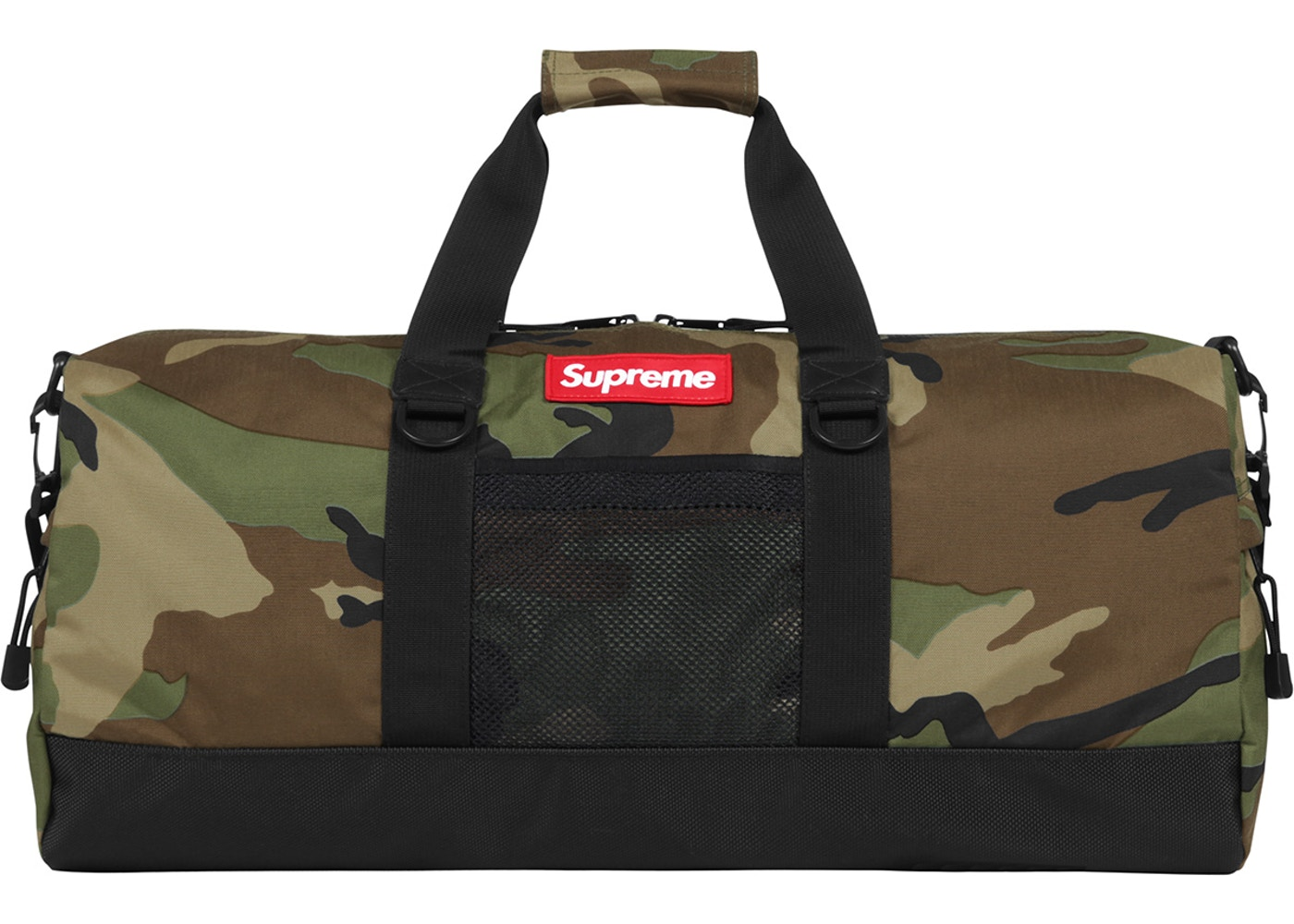 Image result for Supreme Camo Duffle Bag
