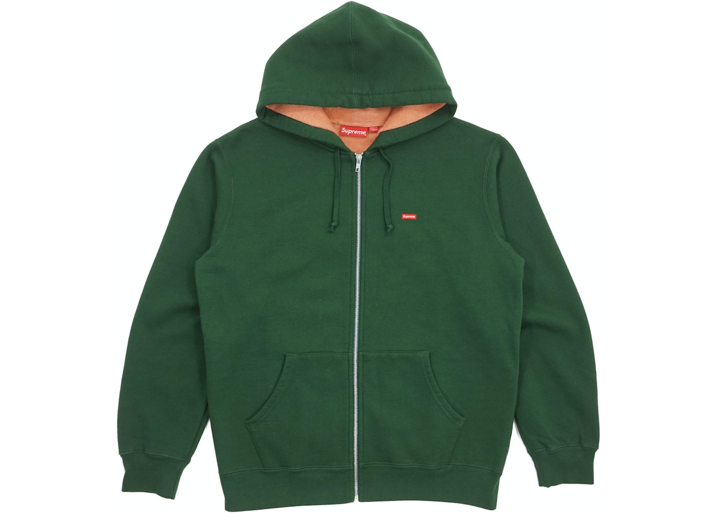 cc7463e3241 Sell. or Ask. Size M. View All Bids. Supreme Contrast Zip Up Hooded  Sweatshirt ...