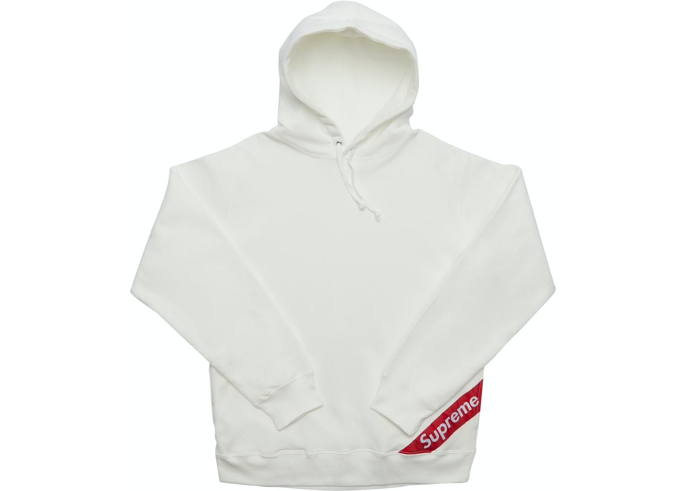 53ef1ff06b0 Sell. or Ask. Size S. View All Bids. Supreme Corner Label Hooded Sweatshirt  White
