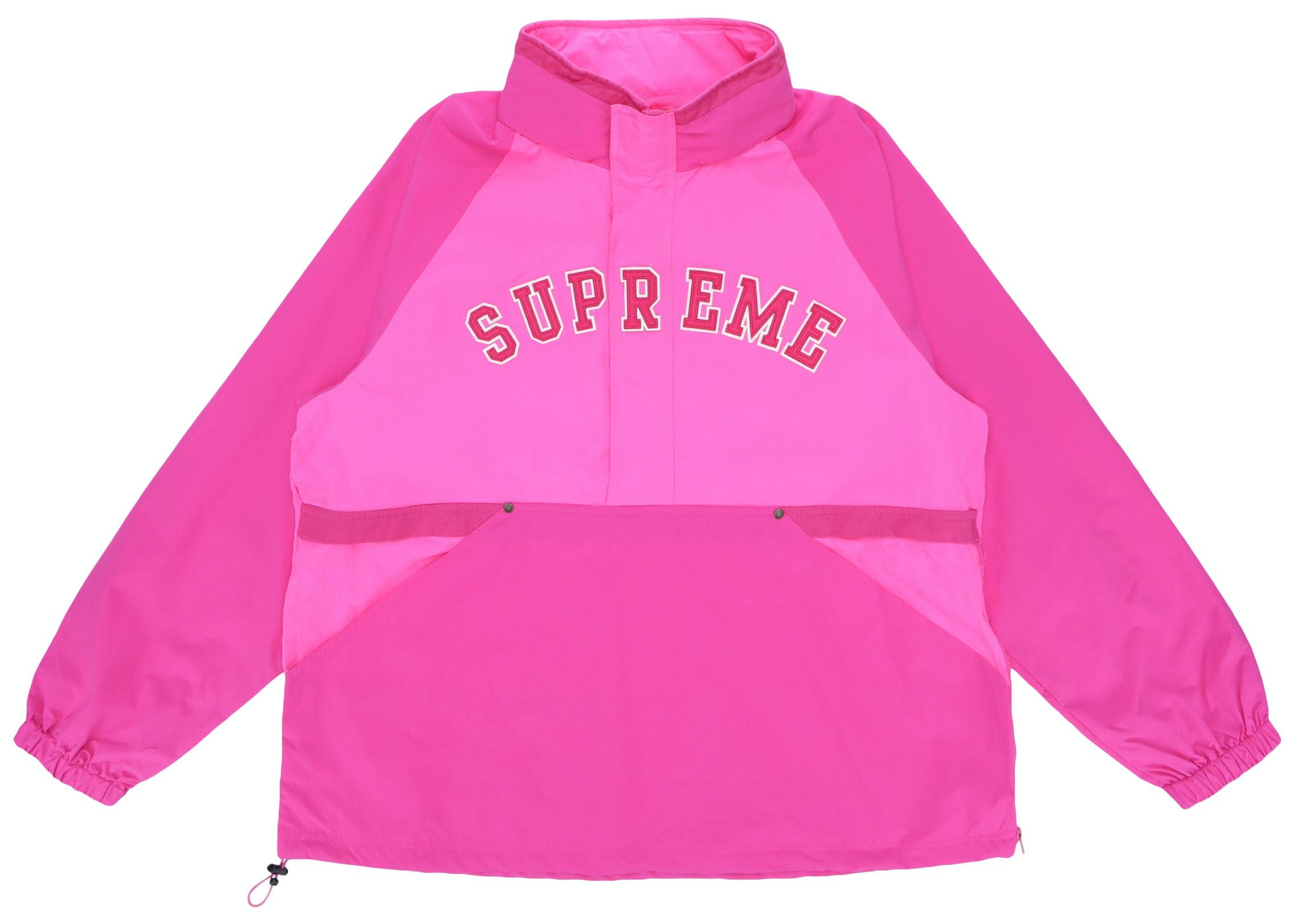 Supreme Court Half Zip Pullover Magenta