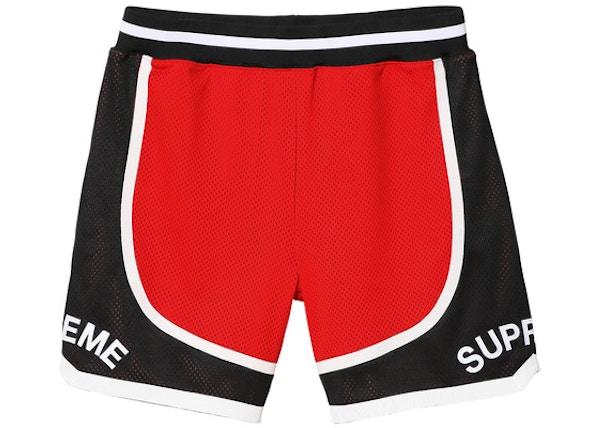 e25d3eb2e Supreme Curve Basketball Short Red - SS17
