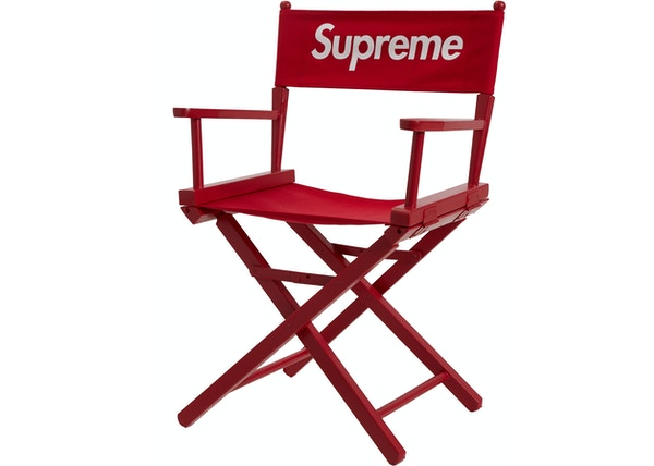 Supreme Director's Chair Red